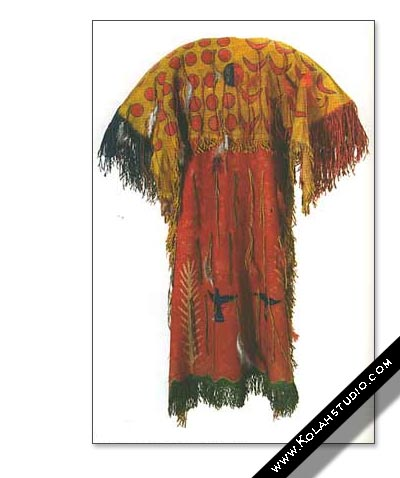 Ghost Dance Dress 1886 Oklahama