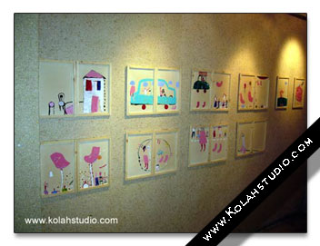 Kolahstudio group exhibition at behzad Art galery