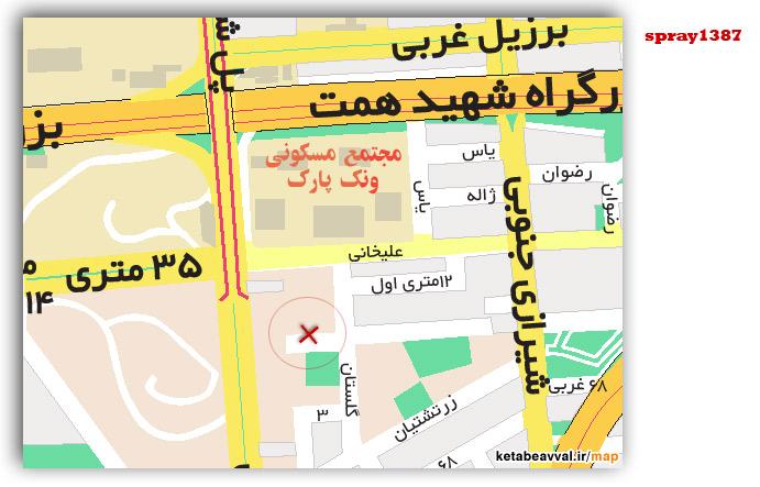 Tehran Map 87
