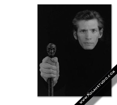 Self portrait | Robert Mapplethorpe 1988