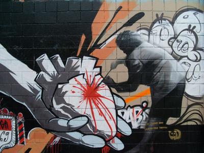 نمونه یک گرافیتی