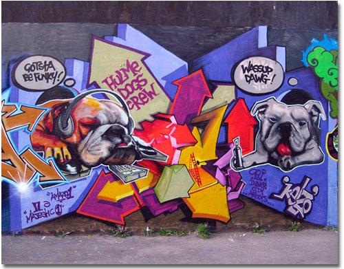 Kelzo Graffiti Manchester