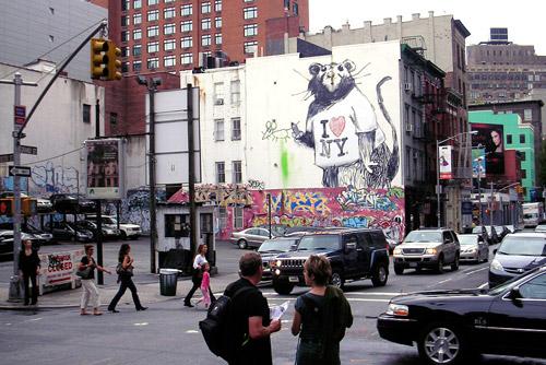 Banksy Piece in NewYork