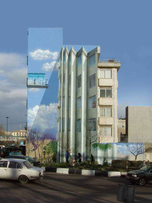 Mehdi Ghadyanloo Legal painting for Tehran city council