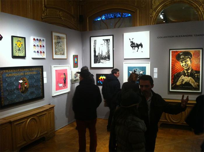 Street ART Auction in Paris