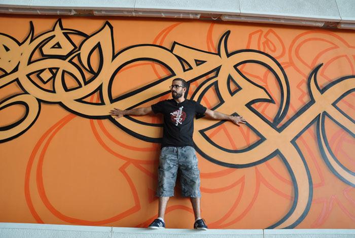 Artist Elseed in Qatar