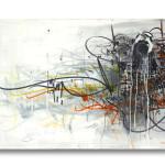 Graffiti on canvas